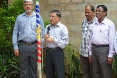 Independence Day of India -Dr. Ajoy Mishra , PrДsident und Prof. Dr. Narayan Pati, SekretДr
