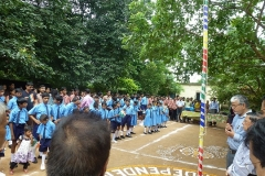 Indian Independence Day Feier in Chetana