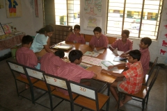 Kinderunterricht Chetana , Bhubaneswar (2)
