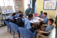 Kinderunterricht Chetana , Bhubaneswar